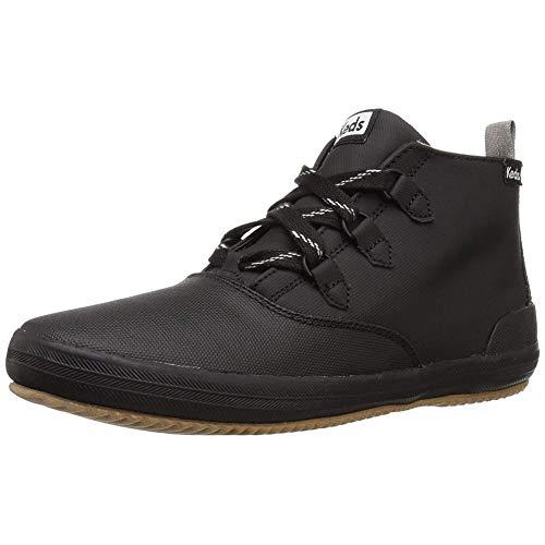 Keds Women's Scout Chukka Splash Twill WX Sneaker, Black, 5 M US