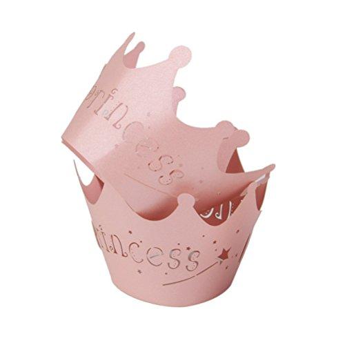 NUOLUX accessori Cupcake, cupcake pirottini, 50pcs principessa...