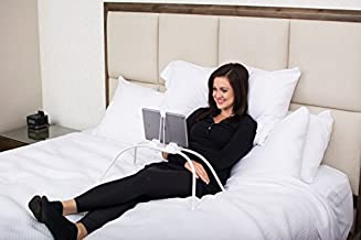 Tablift Tablet Stand (in White) for The Bed, Sofa, or Any Uneven Surface