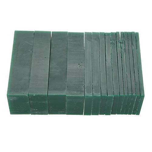 4/6/8/21 / 23mm de espesor verde tallado cera modelo de joyería cera para hacer joyas
