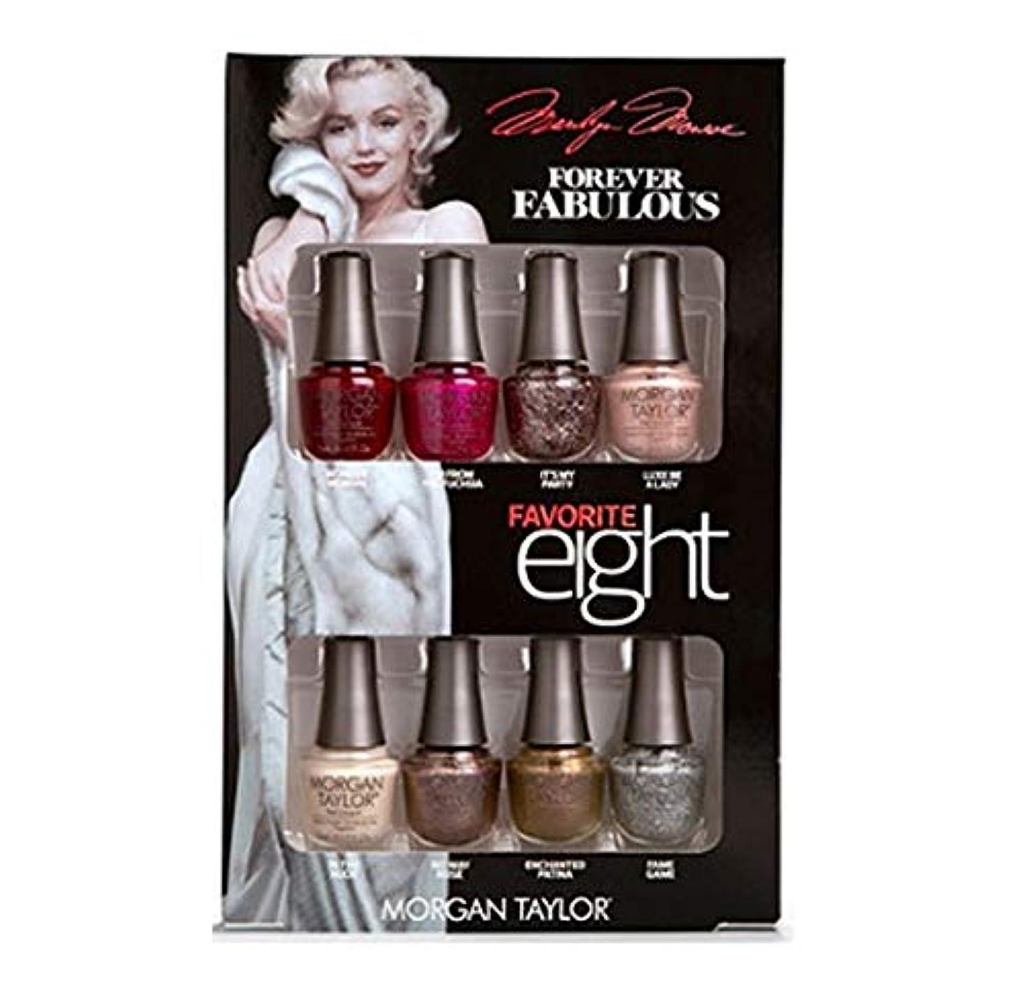 最初噴水動かすMorgan Taylor - Forever Fabulous Marilyn Monroe - Mini 8 Pack - 5 mL / 0.17 oz Each