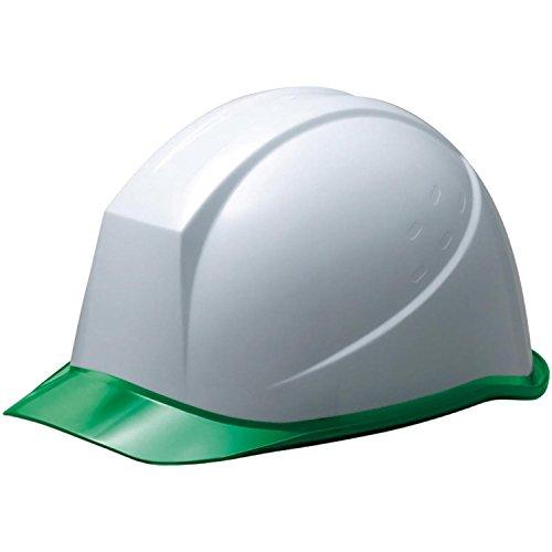 ミドリ安全 ヘルメット クリアバイザー ダイヤルバンド SC11PCL DR α ホワイト グリーン