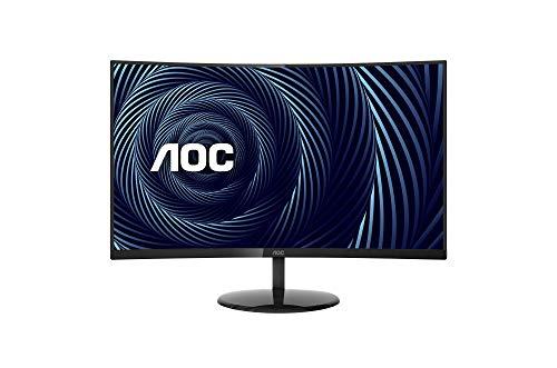 AOC CU32V3 32' Super-Curved 4K UHD Monitor, 1500R Curved VA, 4ms, 121% sRGB Coverage / 90% DCI-P3,...