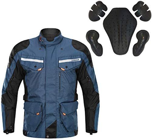Hcxbb-10 Waterdichte motorfiets jersey- motorkleding professionele sportkleding, mannen bescherming racing mantel CER goedgekeurde uitrusting waterdichte broek set bovenaan