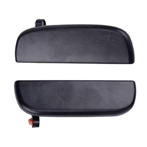 MMGANG 1 par de Piezas de Mango de Puerta Ajuste para Suzuki Alto APV Carry 2009-2013 Frente de plástico Negro