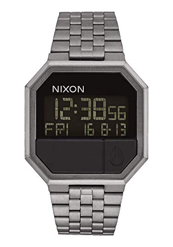Nixon Unisex-Uhr Digital Quarz mit Edelstahlarmband – A158632