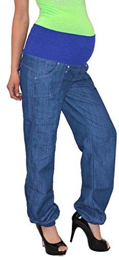 ESRA Schwangerschaftshose Umstandshose Damen Hose für Schwangerschaft bis große Größen Übergrösse U-J133