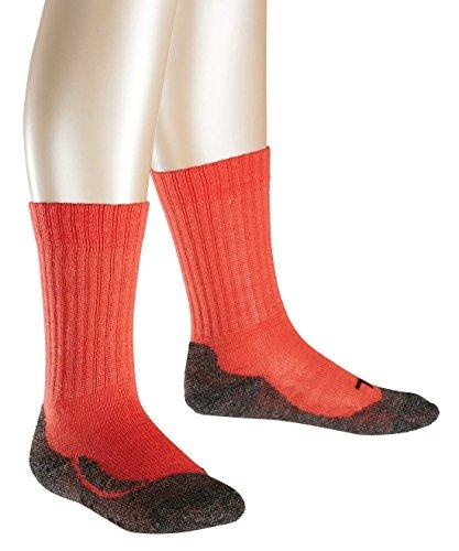Falke Unisex Kinder Socken, Active Warm K SO -10450, Rot (rouge 8008), 39-42