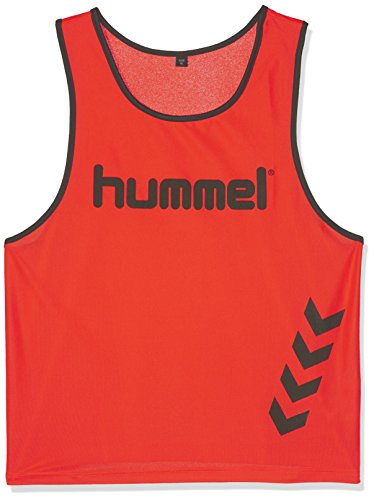 Hummel Fundamental Training - Camiseta de entrenamiento, color naranja (neon orange), talla XL