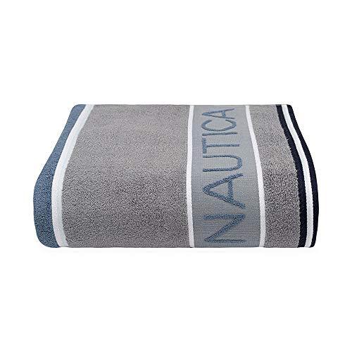 Nautica Radar Grey Blue Toalla baño, Color Gris Azul (Radar Grey Blue)