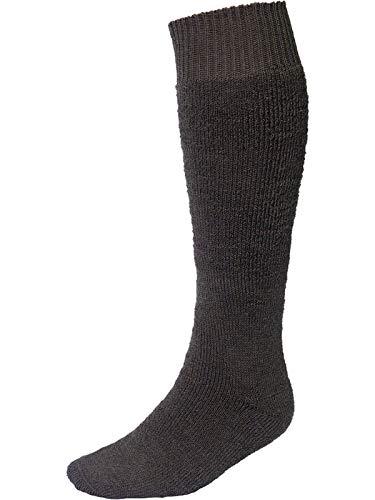 Nordpol Warmer Vollplüsch-Strumpf aus Wolle/Polyester-Mischgewebe, 39|41