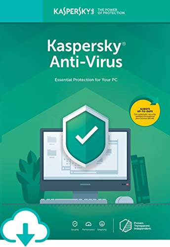 Kaspersky Anti-Virus 2020 | 1 Device | 1 Year [Download]