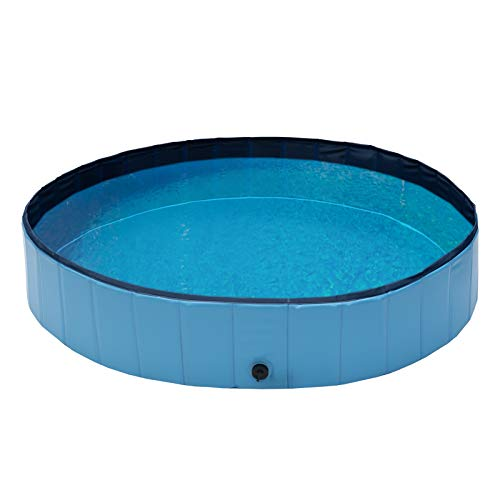 Qeedo Quick Pool, faltbar (160 cm) - Hundepool, Katzen Planschbecken