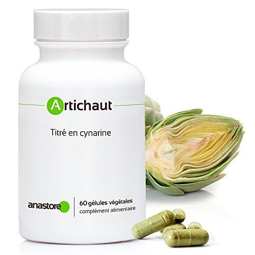 ALCACHOFA * 400 mg / 60 cápsulas * hígado, molestias hepáticas, molestias de la vesícula biliar, diabetes * Garantía de satisfacción o reembolso * Fabricado en Francia