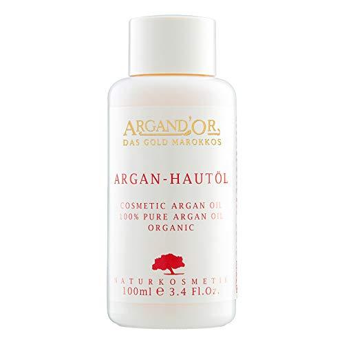Argand´Or Arganöl pur für Gesicht, Haut und Haare 100 ml Bio und Fair Trade Gesichtspflege und Natur-Kosmetik aus Marokko Vegan und ohne Silikone
