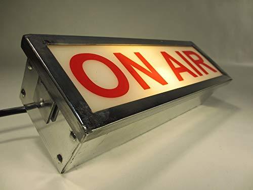 ON AIR Kinolampe Vintage Wandlampe Metall Studiolampe Theaterleuchte 220V Kinoleuchte Industrie Design Hinweisleuchte Metall Hinweislampe