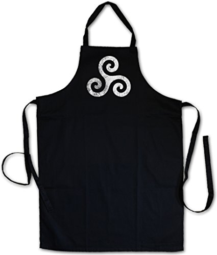 Urban Backwoods Triskelion Symbol I Tablier De Cuisine Cuisson Gril BBQ Barbecue