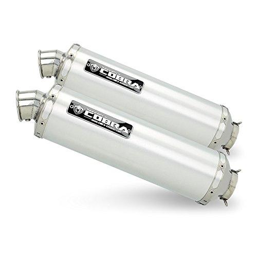 Auspuff Aprilia Tuono 1000/ R 06-11 Cobra C5 Slip on Dual Aluminium