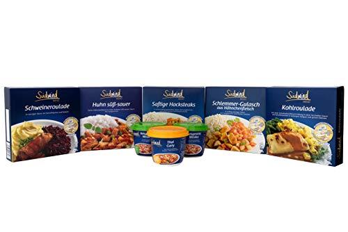 Unsere beliebten Klassiker - verschiedene Fertiggerichte für die Mikrowelle / Wasserbad - haltbare Lebensmittel - keine Versandkosten - Südwind Lebensmittel