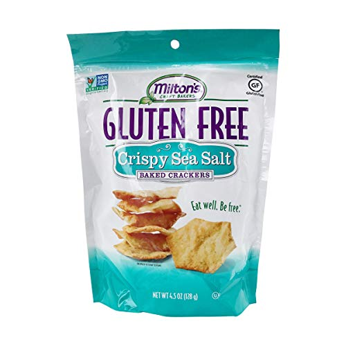 Milton's Craft Bakers Baked Crackers, Sea Salt, 4.5 oz