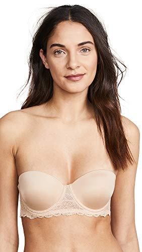 Calvin Klein Women's Seductive Comfort Lift Strapless Multiway Bra, Bare, 30D