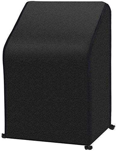 adshi Stacking Garden Chair Covers,Waterproof Garden Stacking Chair Furniture Patio Cover,Breathable,for Outdoor Patio Garden Chairs Storage (163 * 66 * 63 * 89cm)