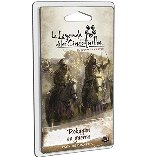 Fantasy Flight Games-La Leyenda de los Cinco Anillos LCG-Rokugán en Guerra, Color...