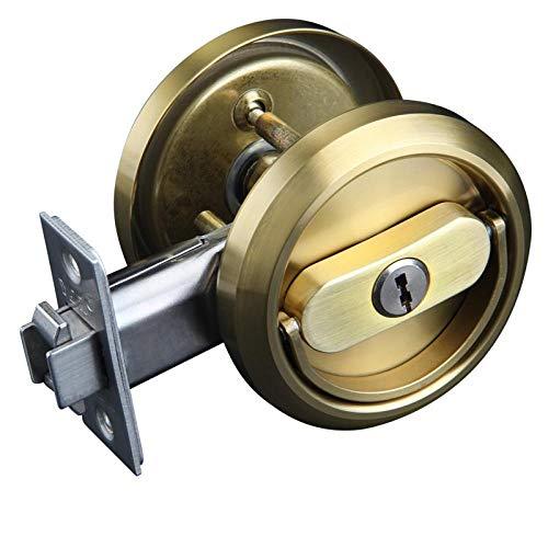 Onzichtbare deurvergrendeling, binnendeurslot, Huishoudelijke universele deurvergrendeling, Pull Ring Lock, Opslagruimte Deur Dubbele Haak Anti-Diefstal Lock To