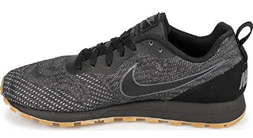Nike Herren Sneaker MD Runner 2 Eng Sneakers, Schwarz Black Black Dark Grey 010, 42.5 EU