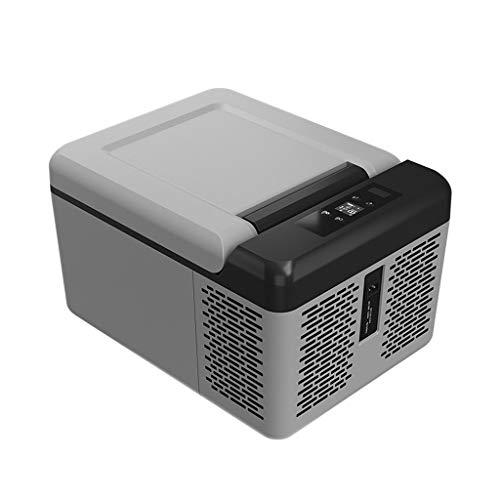 Mini Fridge 9 litros Nevera De Compresor Portátil Refrigerador del Congelador del Uso del Coche Refrigerador Más Fresco del Uso Doméstico 24 V / 12 V / 110-240 V