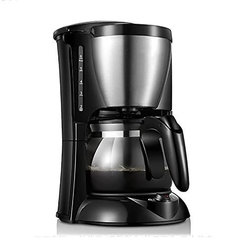 DDQQ Cafetera automática, cafetera Espresso, cafetera doméstica recién molida (con Enchufe de conversión), Sistema de Calentamiento rápido, 300 vatios