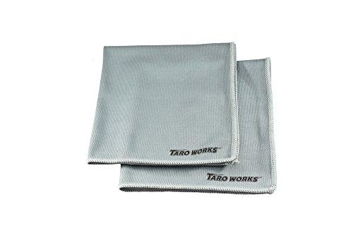 TARO WORKS ガラス窓専用 マイクロファイバークロス 内外装 2 Pack