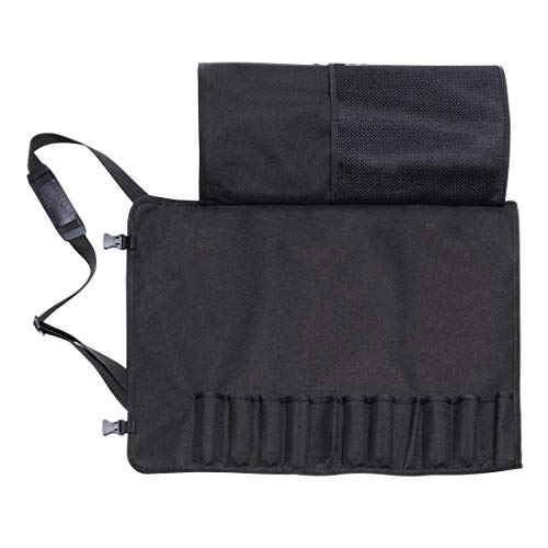 Dick Messer Textil-Rolltasche mit 11 Fächern