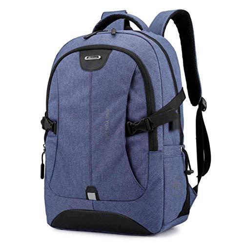 JYTBB Outdoor-Produkt/Modetasche Student Bookbag Business Travel Modularer Laptop-Rucksack mit USB-Ladeanschluss und Audio-Buchse, geeignet for Männer und Frauen im Freien Freizeitrucksack (Farbe: A)