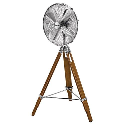 Unold 86895 Staande ventilator koloniaal in chroom/grenen