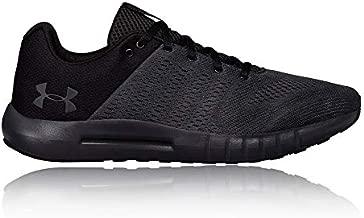 Under Armour Men's Micro G Pursuit Running Shoe, Anthracite (104)/Black, 12