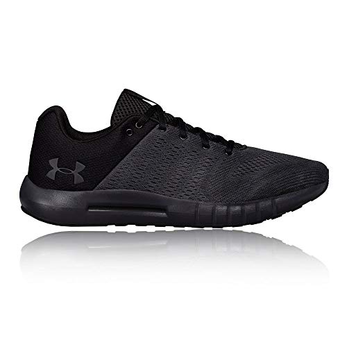 Under Armour mens Micro G Pursuit Running Shoe, Anthracite (104)/Black, 11