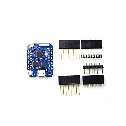 WEMOS D1 Mini Pro V1.1.0 Conector de Antena Externa Módulo ESP8266 WiFi IO Junta Micro-Controlador basado en el ESP-8266EX JBP-X