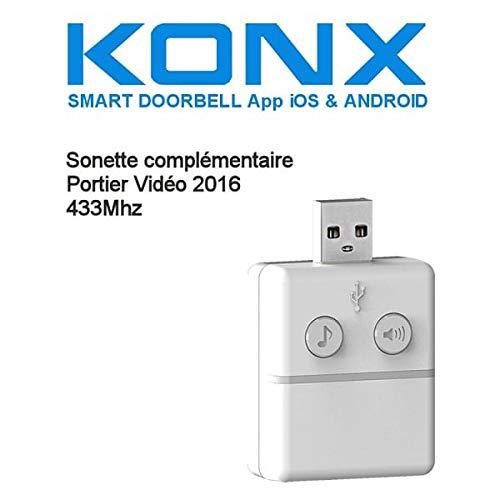 Doorbell konx 2016 Campanello 433Mhz supplementare