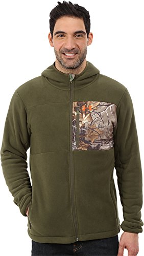Under Armour Men's Caliber Sherpa Hoodie Greenhead XX-Large