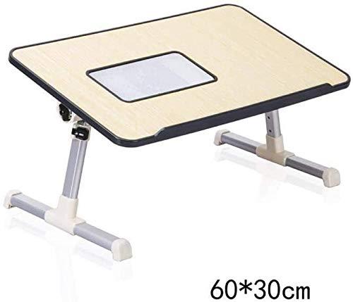 HOMRanger Laptop-Tabellen-Schlafsaal-Lernschreibtisch-Haushalts-Klapptische mit Heizkörper-Farbe, schwarz