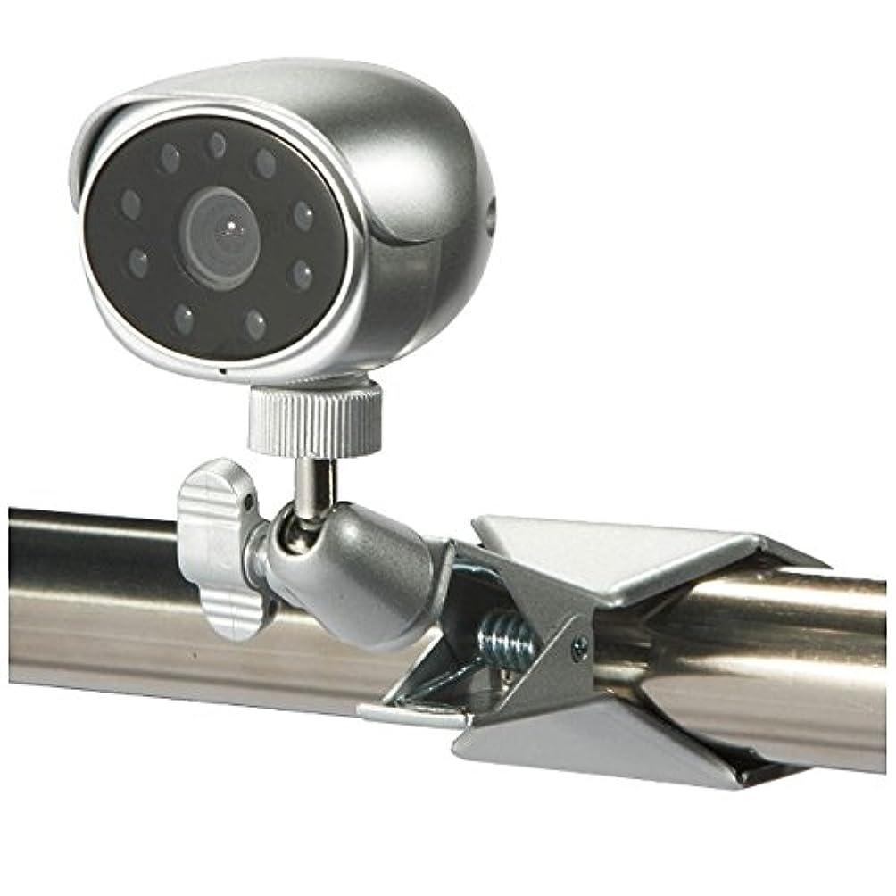 鳩命題かりてセレン 【屋内用】簡易取付型赤外線投光器内蔵カラーカメラ SEC-620