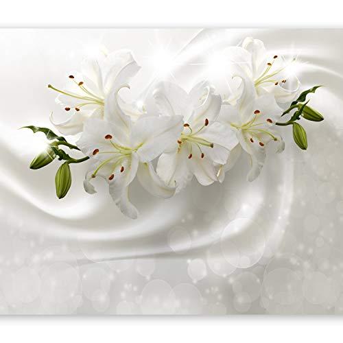 Papel Pintado Pared Flores Grandes Marca murando