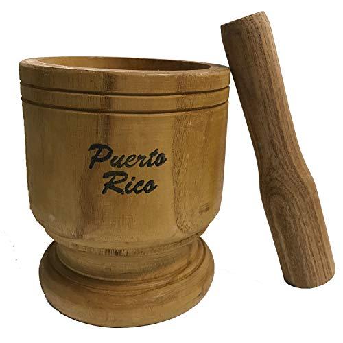 Wooden Mortar Puerto Rico