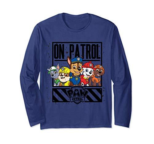 Paw Patrol Group On Patrol Long Sleeve T-Shirt