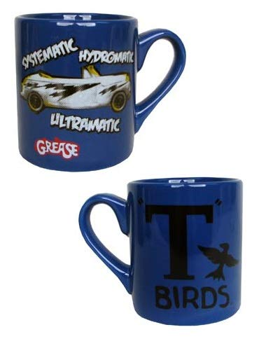 Grease Movie T-Birds Systematic, Hydromatic, Ultramatic Ceramic Coffee Mug