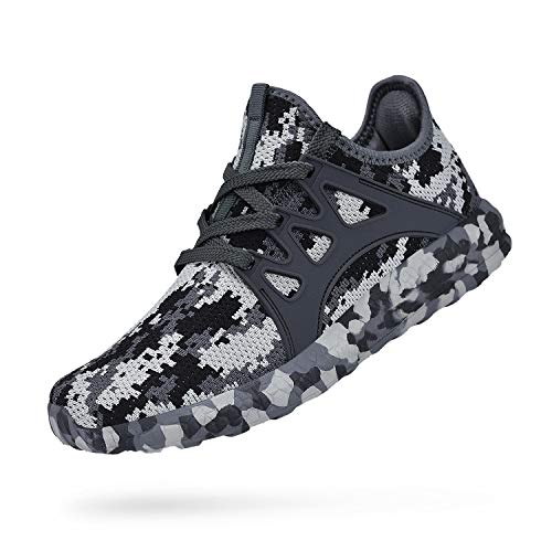 Feetmat Womens Sneakers Ultra Lightweight Breathable Mesh Athletic Walking Running Shoes 10