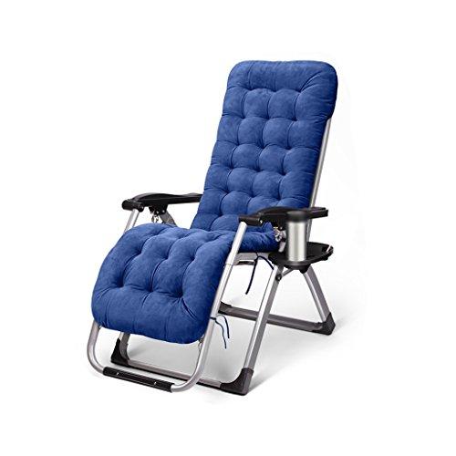 Chaise longue Chaise de loisirs pliant en plein air cour intérieure réglable sieste Lounge Chairs & Mats Enregistrer l'espace (Couleur : D)