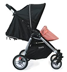 Specifically tailored for your Snap & Snap4 strollers Easily snaps into footrest to lift & attach to front bar Provides a cozy coccoon like atmosphere for your infant Available in multiple colors