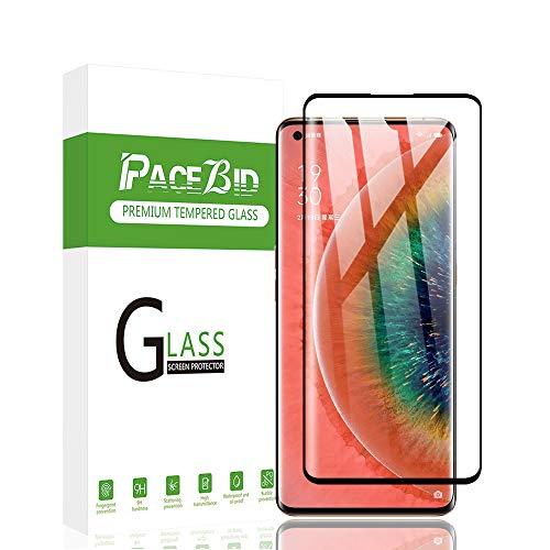 PaceBid Panzerglas Schutzfolie Kompatibel mit Oppo Find X2 Neo, Full Coverage, 9H Festigkeit, Anti-Kratzer, Ultra Klar, Blasenfrei,Fall Fre&lich Hartglas Bildschirmschutzfolie für Oppo Find X2 Neo